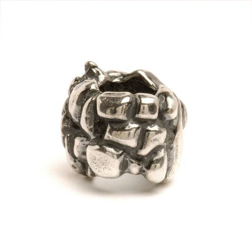 Retired Trollbeads Four Elements Sterling Silver Bead TAGBE-20011